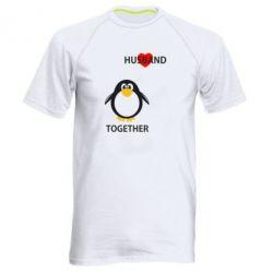 Мужская спортивная футболка Together forever2