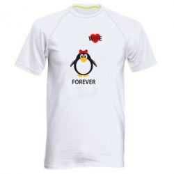 Мужская спортивная футболка Together forever