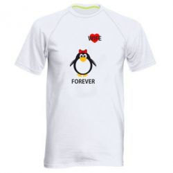 Мужская спортивная футболка Together forever - FatLine