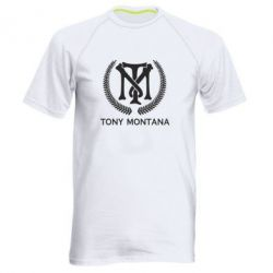 Чоловіча спортивна футболка Tony Montana Logo