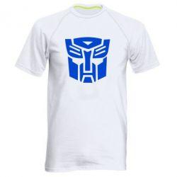 Мужская спортивная футболка Трансформеры Автоботы - FatLine