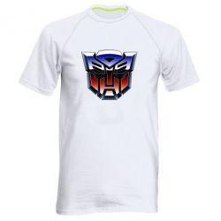 Мужская спортивная футболка Трансформеры Лого 1