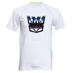Мужская спортивная футболка Трансформеры Лого 2