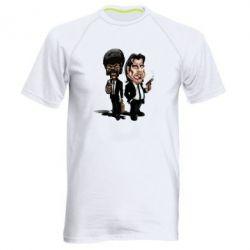 Мужская спортивная футболка Travolta & L Jackson - FatLine
