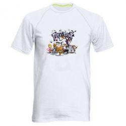 Мужская спортивная футболка Trick or treat - FatLine