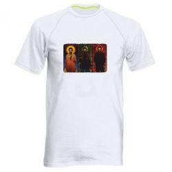 Мужская спортивная футболка Трио Сверхъестественное - FatLine