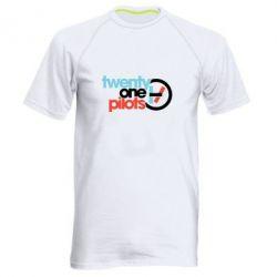 Чоловіча спортивна футболка Twenty One Pilots Logo