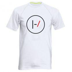 Мужская спортивная футболка Twenty One Pilots Logotype