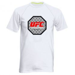 Мужская спортивная футболка UFC Cage - FatLine