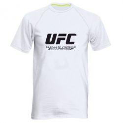 Мужская спортивная футболка UFC - FatLine