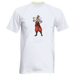 Мужская спортивная футболка Ukraine Cossak - FatLine