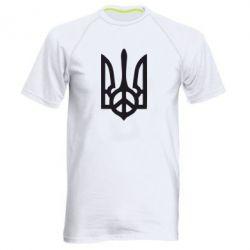 Мужская спортивная футболка Ukraine Peace - FatLine