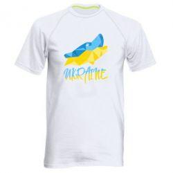 Мужская спортивная футболка Ukrainian Wolf - FatLine