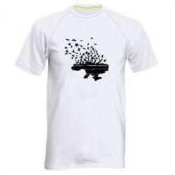 Мужская спортивная футболка Українські птахи - FatLine