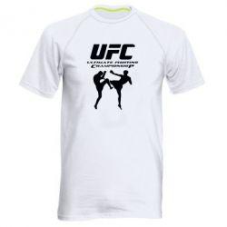 Мужская спортивная футболка Ultimate Fighting Championship - FatLine