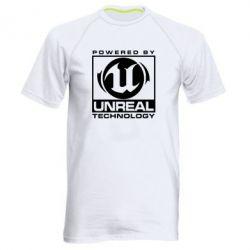Мужская спортивная футболка Unreal - FatLine