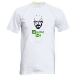 Мужская спортивная футболка Уолтер Уайт (Во все тяжкие) - FatLine