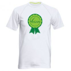 Мужская спортивная футболка Vegan - FatLine