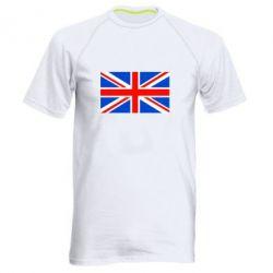 Мужская спортивная футболка Великобритания - FatLine
