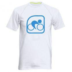 Мужская спортивная футболка Велоспорт - FatLine