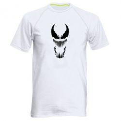 Мужская спортивная футболка Веном Силуэт - FatLine