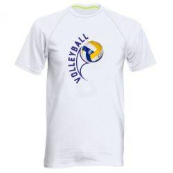 Мужская спортивная футболка Волейбол