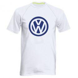 Мужская спортивная футболка Volkswagen - FatLine