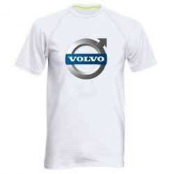 Мужская спортивная футболка VOLVO 3D - FatLine