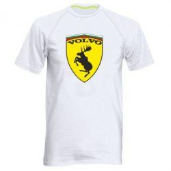 Мужская спортивная футболка Volvo Logo - FatLine