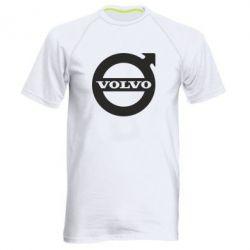 Мужская спортивная футболка Volvo - FatLine