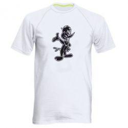Мужская спортивная футболка Вуди Вудпекер - FatLine