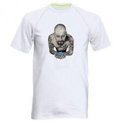 Мужская спортивная футболка Walter White with meth - FatLine