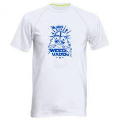 Мужская спортивная футболка Weed Vader - FatLine