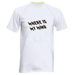 Мужская спортивная футболка Where is my mind