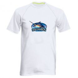 Мужская спортивная футболка Williamson - FatLine