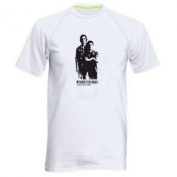 Мужская спортивная футболка Winchester Bros - FatLine