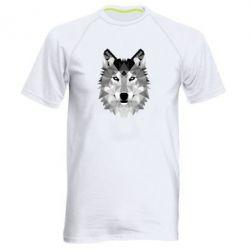 Мужская спортивная футболка Wolf Art - FatLine