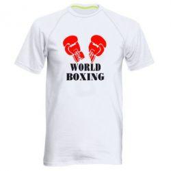 Мужская спортивная футболка World Boxing - FatLine