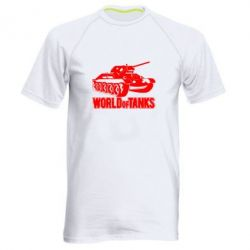 Мужская спортивная футболка World Of Tanks Game - FatLine