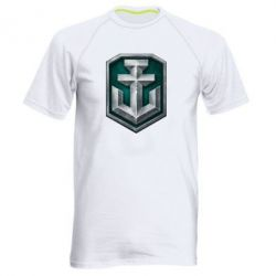 Мужская спортивная футболка World of Waships Main Logo