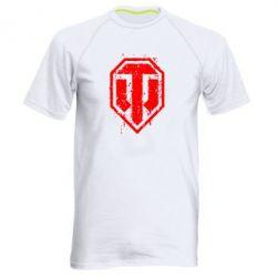Мужская спортивная футболка WOT Logo - FatLine