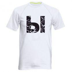 Мужская спортивная футболка Ы - FatLine