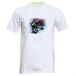 Мужская спортивная футболка Yamaha art