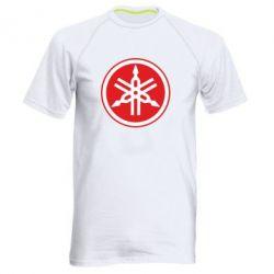 Мужская спортивная футболка Yamaha Big Logo - FatLine