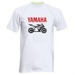 Мужская спортивная футболка Yamaha Bike - FatLine