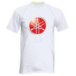 Мужская спортивная футболка Yamaha Logo 3D - FatLine