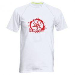 Мужская спортивная футболка Yamaha Moto - FatLine