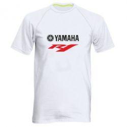Мужская спортивная футболка Yamaha R1 - FatLine
