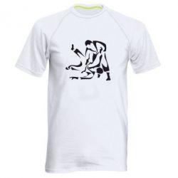 Мужская спортивная футболка Захват - FatLine