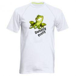 Чоловіча спортивна футболка Жабка - FatLine
